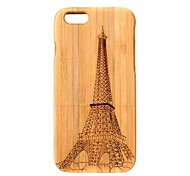 Lightweight Bamboo Fashion Environmental Pattern Protective Case Back Cover for iPhone 6