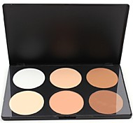 Professional 6 Color Concealer Camouflage Makeup Palette