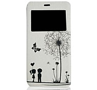 Couples Pattern PU Leather Full Body Case Have A Perfume and Phone Holder  for Sony Xperia Z3 Compact/Z3 mini