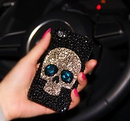 LADY The Skull Style  with Diamond Frame for iPhone 5 /5S