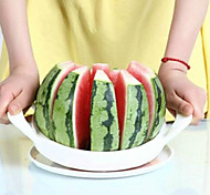 aço branco conveniente cortador de melancia utensílio de cozinha frutas slicer20 * 20cm