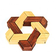 Unlock Hexagonal Wooden Puzzle Toy