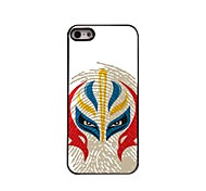 Chinese Face Pattern Aluminum Hard Case for iPhone 5/5S