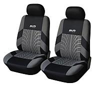 autoyouth 4 pedazos / asiento de coche fijado cubre universal de poliéster material de ajuste 3mm esponja compuesta