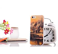Glare House pattern TPU Soft Case for iPhone 6