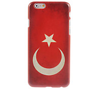 Turkish Flag Design Hard Case for iPhone 6