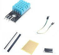 Digital Temperature Humidity Sensor Module and Accessories for Arduino