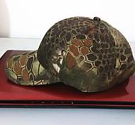 esdy рыбалка открытый ветрозащитный полиэстер камуфляж шляпа бейсболка козырек горы цвет питона