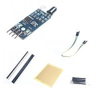 DIY Smart Car Infrared Obstacle Avoidance Sensor and  Accessories for Arduino