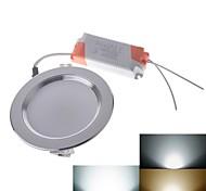 Lâmpada de Teto Regulável 3 W 280lm LM 3000K/4500K/6500K K Branco Quente/Branco Frio/Branco Natural 12 SMD 5730 AC 85-265 VEncaixe