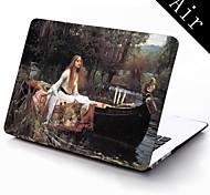 mondo famosi dipinti disegno ragazza custodia in plastica protettiva per tutto il corpo per 11-inch / 13-inch nuovo Mac Book Air