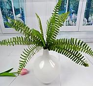 """folhas decorativas verdes artificiais 4 peças / lote decorrem 11.4 """"para a decoração floral"""