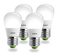 3W E26/E27 LED Globe Bulbs S19 SMD 240-270 lm Cool White AC 100-240 V
