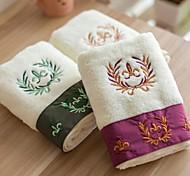 """serviette de bain, 3 couleurs nobles 100% serviette de coton de fil non torsadé 55 """"* 29"""""""