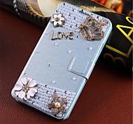 windinduzierte handgefertigte Diamant-Optik Flip-Telefon Sätze gelten für Samsung 7100 / Anmerkung 2 alle Arten von Design-