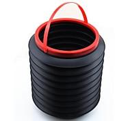 LEBOSH®Magic Barrel Can Folding rubbish Barrel More Function Barrel 4L