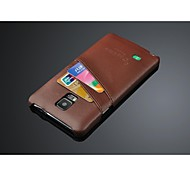 Fashion®  Super Thin Genuine Leather Case for Sumsung Note4 (Assorted Color)