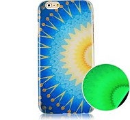 Geometry Light Pattern Luminated Hard Back Case for iPhone 6
