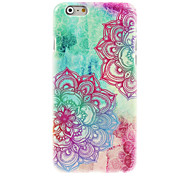 Colorful Beautiful Flower Design Hard Case for iPhone 6