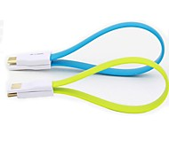 22cm Universal USB/Micro USB Charging Cable for Samsung Galaxy S3 S4 NOTE2 I9500 Android Phone
