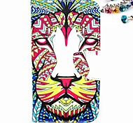 Tiger Pattern PU Leather Full Body Case with Card Slot And Stand And Dustproof Plug for Motorola G2