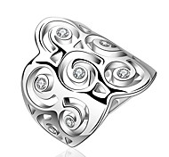 Punk Jewelry Women's Silver Alloy Statement Rings(1 Pc)