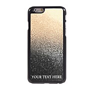 Personalized Phone Case - Drop of Water Design Metal Case for iPhone 6