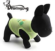 droolingdog® schönen Blockschrift Muster terylene Weste für Hunde (verschiedene Größen)