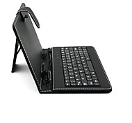 sanshuai 7 inch universele tablet geval is met usb 2.0 qwerty-toetsenbord