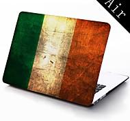 irland Grunge-Flag Tapete Vollschutzkunststoffgehäuse für 11-Zoll / 13 Zoll neue Mac Book Luft