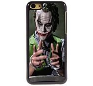 Clown Design Aluminum Hard Case for iPhone 5C