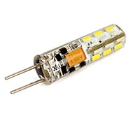 2W G4 LED-maïslampen T 24 SMD 3014 110 lm Koel wit / Blauw DC 12 V