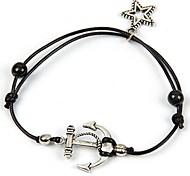 Fashion Hand Woven Star Bracelets Random Color