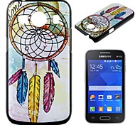 Go After Your Music  Pattern Pc Back Cover Case for Samsung Galaxy Ace Style G357FZ