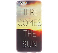Sunrise Design Hard Case for iPhone 6