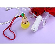 CP2 Jade-Like Stone Light Car Perfume Pendant Double USB Car Charger