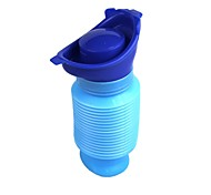 Mobile Toilet Travel Shrinkable Personal Mobile Toilet Potty Pee Bottle for Kids Adult Foldable / Portable / Adjustable Plastic