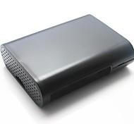 boîte de protection étui de abs pour Raspberry Pi + b - noir