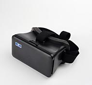 cabeza de cartón de montaje de realidad virtual video gafas 3D plásticos para ios android 5.5-6.3inch teléfonos inteligentes