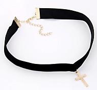 Fashion Metal Cross Necklace