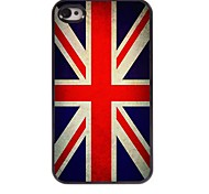 Vintage The Union Jack Design Aluminum Hard Case for iPhone 4/4S
