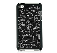 Equation Leather Vein Pattern Hard Case for iPod touch 4