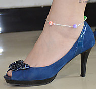 Eruner®Sexy Simple Handmade Bead Chain Anklet Foot Leg Chain Bracelet Goth Punk