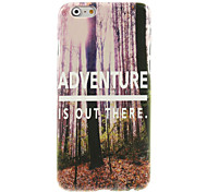Adventure is Out There  Design Hard Case for iPhone 6