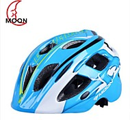 Moon Kid's 17 Vents EPS+PC Blue Integrally-molded Cycling Helmet(52-55cm)