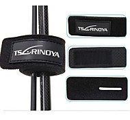 Trulinoya 4Pcs Fishing Lure Rod Cable Tie Straps Length 25cm*Width 3cm 2Bags(Color Random)