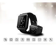 "M28 1.48 ""Bluetooth v3.0 giocatore intelligente orologio di chiamata / sms / musica capture / a distanza"