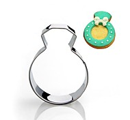Wedding Diamond Ring Shape Cookie Cutter, Stainless Steel