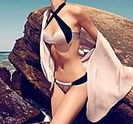 Women's Fashion Sexy Split Push Up Beach Bikini Set Swimwear Swimsuit