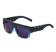 100% UV Resin Square Plastic Classic Sunglasses
